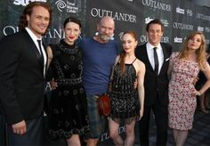 Diana Gabaldon and Caitriona Balfe explain time travel's role in Outlander