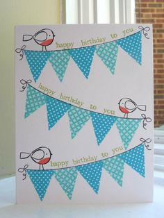 to make #banners #bittybird so cute
