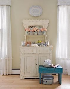 Love this buffet from Swedish Style in a Maryland Farmhouse