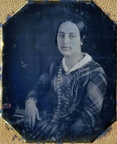 1850, double hair part