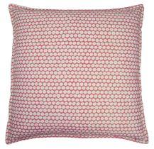 20x20 rose checker/oyster linen pillow