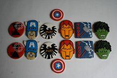 Avengers Cookies!