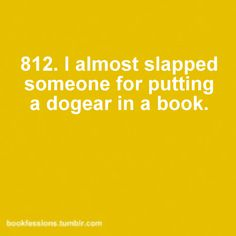 Book mark. SERIOUSLY.