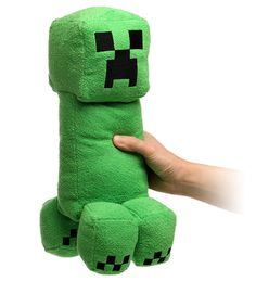 ThinkGeek :: Minecraft Creeper Plush With Sound - James would love this.