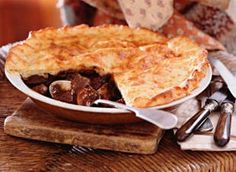 Beef and cheddar pie  A great twist of cheddar for this classic Beef Pie.