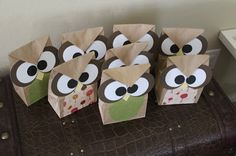 Owls O.O: DIY Owl treat bags 2