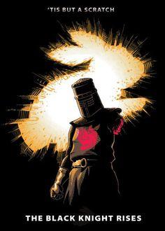 leg, holygrail, black knight, knights, monti python, art, holy grail, monty python, knight rise