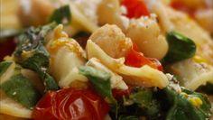 Giada De Laurentiis - Orecchiette with Greens, Garbanzo Beans and Ricotta Salata