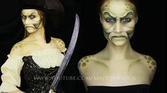 Pirate | Davy Jones Makeup Tutorial