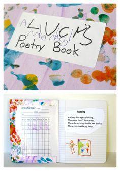 DIY Kids Poetry Book