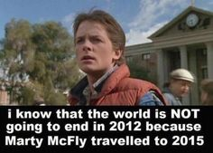 Marty McFly can't be wrong, can he? lol
