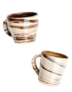 Mocha Cream Marble Mug