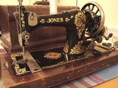 antiqu sew, jone sew, antique sewing machines, names, sew machin, vintage sewing machines, old sewing machines, antiques, antiqu jone