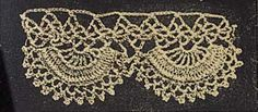 No. 4 Paddle Wheel Lace  Use No. 30 Glasgo Twilled Lace Thread and a fine steel hook.