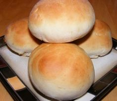Half Hour Hamburger Buns {Recipe} - I made these tonight. Took right around 30 minutes. They were more dense than store-bought buns, but had a great flavor and held up well when used for bacon cheeseburgers - didn't get slimy or break apart. I halved the recipe so we only had 6 buns. Honestly faster than going to the store, definitely cheaper, and tasted SO much better!!!