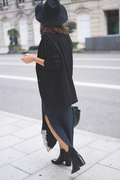 slit skirts//