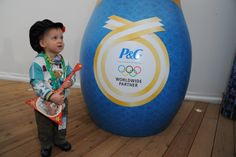 A little visitor at the #PGFamily home sporting  some Russian fashion.