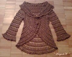 Crochet sweater !