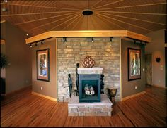 """""""Circular living provides a balance of looking inward and outward, looking out at the natural environment and surroundings but then coming in again to the self and the hearth."""" David Raitt"""