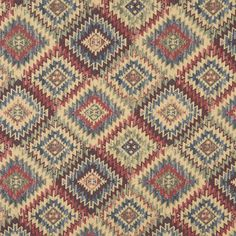 Upholstery Fabric K0876 Navajo sunset Chenille