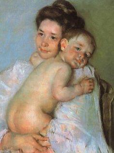 I do like Mary Cassatt's paintings of mothers and children.