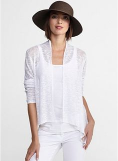 Eileen Fisher- love the hat