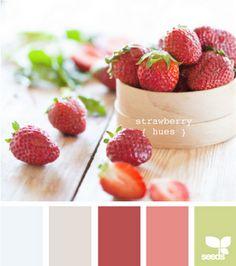 strawberry hues