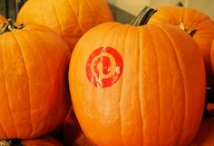 It's pumpkin carving time here at Pinterest!