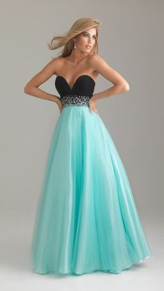 Prom Dresses, would make the top a band though