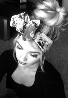 Hair Wrap Tutorial via caraloren.blogspo... >>> love her.