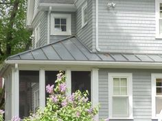 metal roof houses |