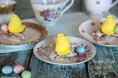 Simple Easter Recipes For Kids: Nesting Peeps