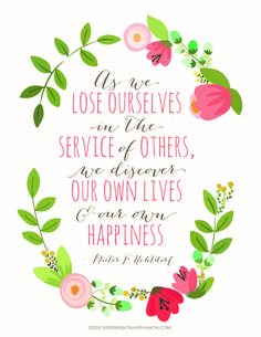 Remember today, the words of President Uchtdorf: http://www.sistermissionaryfashion.com/images/smf_printable_service.pdf