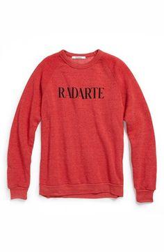 gift for her: 'radarte' sweatshirt from rodarte.
