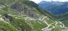 Switzerland.  Would love to drive on this.