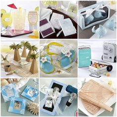 See resources at Things Festive Wedding Blog     Check out our great wedding favor ideas.