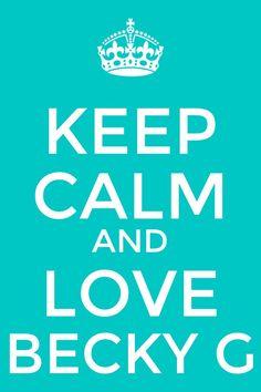 Love Becky G.   Made by @♡uɿʎɐpuɐɹq♡
