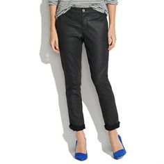 Coated Denim Rivington Trousers - pants - Women's PANTS & SHORTS
