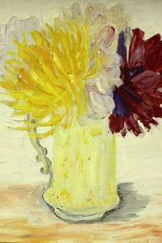 Evy Låås (1923-1999) Flower Still Life