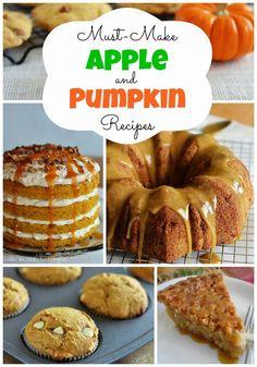 Must-Make Apple & Pumpkin Recipes