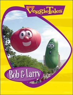 Giant Veggie Tales Bob & Larry Balloons