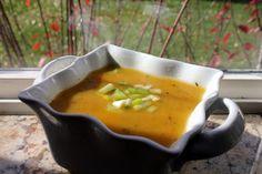 Grain Crazy: Healthy Butternut Squash Soup