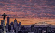 Winter Sunrise in Seattle