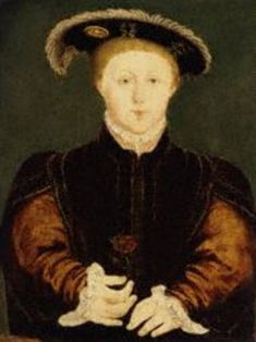 Son of Henry VIII and Jane Seymour, Edward VI of England.