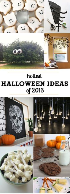 Halloween ideas going viral in 2013 - each ingenious in their clever twists on everyday items!