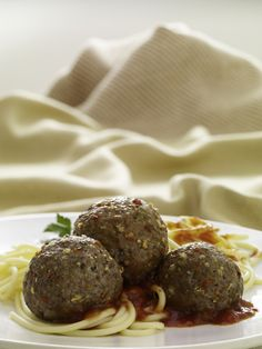 Italian-seasoned meatballs are simple to make with a recipe mix. Serve with pasta and your favorite sauce. #recipe