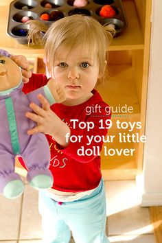 Our top picks to promote quality dramatic play for your little doll lover...This type of play is wonderful for teaching emotions and fostering nurturing and empathetic qualities in children.