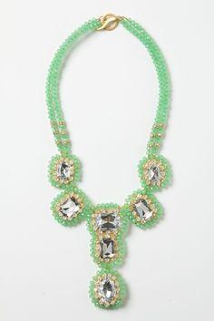 Everjade Necklace from Anthropologie