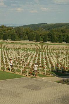 Verdun Cemetery ~ Normandy