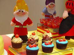 cupcakes: Festa Branca de Neve